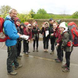 Richard Banks AE Instructor working with DofE Business Group